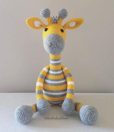 Amigurumi zürafa oyuncak – 10marifet.org | 556x482