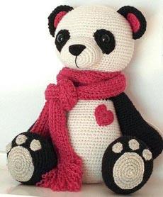 Kendi Kendine Yap   Amigurumi Panda Tarifi   278x230