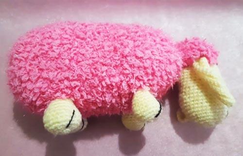 Uyku arkadaşı: Amigurumi Kuzu Örgü Oyuncak - Bikutumutluluk | 322x500