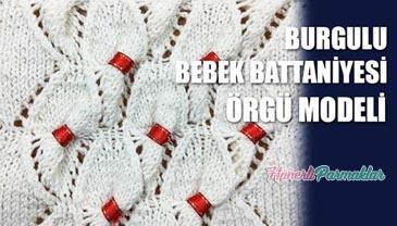 Burgulu Bebek Battaniyesi