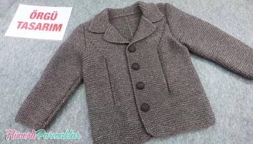 Erkek Çocuk Blazer Ceket Modeli