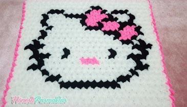 Hello Kitty Kare Lif Yapılışı