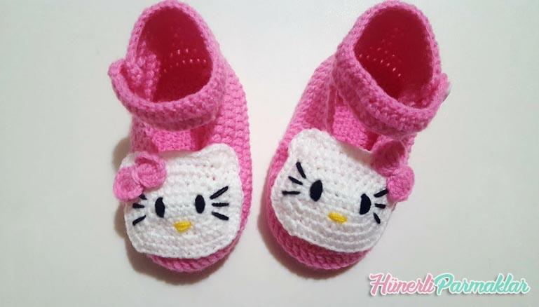 AMIGURUMI Hello Kitty Anahtarlık Yapımı( Amigrumi Hello Kitty ... | 438x769