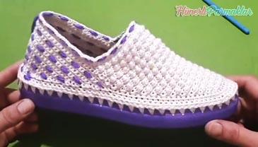 Kabarcıklı Patik Ayakkabı
