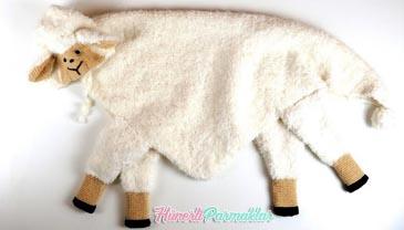 Kundak Olabilen Kuzu Battaniye Yapılışı