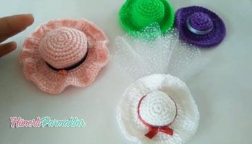 Minik Şapkalar Magnet Bebek Şekeri