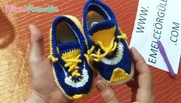 Nazar Boncuğu Ayakkabı Patik