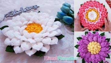 Nilüfer Çiçeği Lif Yapılışı