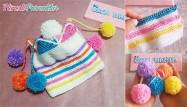 Soytarı Bebek Şapkası Modeli