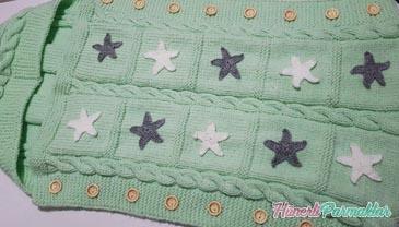 Tulum Bebek Battaniye Yapılışı