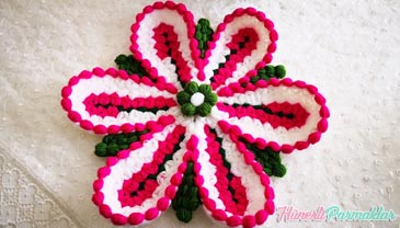 Zambak Çiçeği Lif Yapılışı