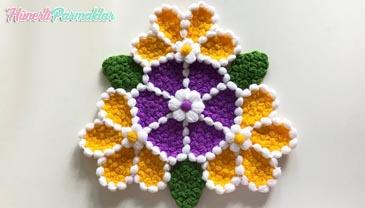 Çiçek Çarkı Lif Modeli Yapılışı
