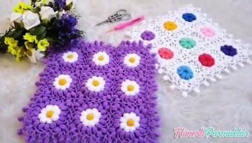 Çiçek Tarlası Lif Modeli Yapılışı