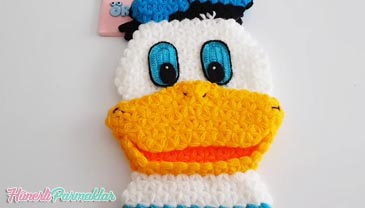 Donald Duck Çizgi Kahraman Lif Yapılışı