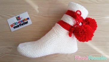 İki Şişle Kolay Ve Güzel Çorap Yapılışı