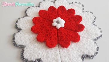 Kalpli Çiçek Lif Yapılışı