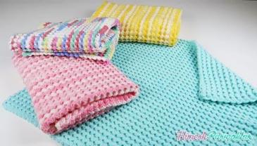 Tığ İşi 3 Boyutlu Battaniye Yapılışı